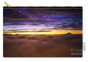Rainier Above The Clouds Carry-all Pouch