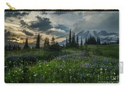 Rainier Abundance Of Flowers Carry-all Pouch