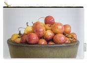 Rainier Cherries And Ceramic Bowl Carry-all Pouch