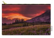 Rainier Fire Mountain Panorama Carry-all Pouch