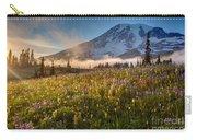 Rainier Golden Sunlit Meadows Carry-all Pouch