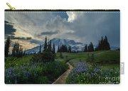 Rainier Meadows Thunder Skies Carry-all Pouch