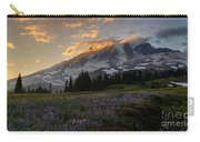 Rainier Purple Lupine Carpet Carry-all Pouch