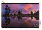Rainier Soaring Sunrise Reflection Carry-all Pouch