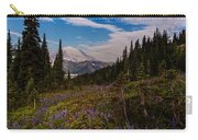 Rainier Tipsoo Wildflowers Carry-all Pouch