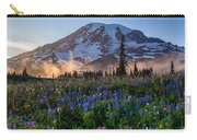 Rainier Wildflower Meadows Pano Carry-all Pouch