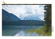 Raining On Emerald Lake In Yoho National Park-british Columbia-canada Carry-all Pouch