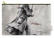 Rainy Day #07 Drawing Carry-all Pouch by Emerico Imre Toth