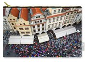 Rainy Day In Prague-1 Carry-all Pouch by Diane Macdonald