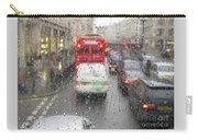 Rainy Day London Traffic Carry-all Pouch