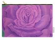 Rainy Day Rose Carry-all Pouch