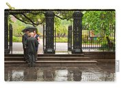 Rainy Destination Wedding In Jackson Square New Orleans Carry-all Pouch