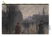 Rainy Evening On Hennepin Avenue Carry-all Pouch by Robert Koehler