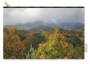 Rainy Fall Day In The Mountains Carry-all Pouch