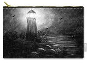 Rainy Night At The Lighthouse Carry-all Pouch