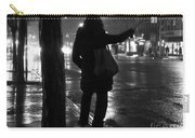 Rainy Night - Hailing A Cab Carry-all Pouch