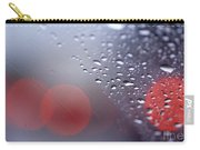 Rainy Windshield Brake Lights Carry-all Pouch