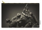 Raising The Flag On Iwo Carry-all Pouch