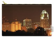 Raleigh Skyline At Night Carry-all Pouch