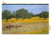 Ranch And Wildflowers And Old Implement 2am-110556 Carry-all Pouch