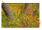 Ranch Wildflowers And Trees 2am-110522 Carry-all Pouch