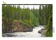 Rancheria Falls Along Alaska Highway In Yk-canada   Carry-all Pouch