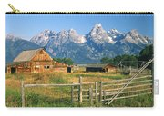 1m9392-ranchland And The Tetons Carry-all Pouch