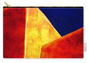 Ranchos In Orange And Yellow Carry-all Pouch by Carol Leigh