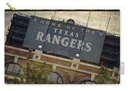 Rangers Ballpark In Arlington Color Carry-all Pouch