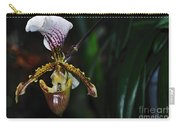 Rare Orchid - Paphiopedilum Gratrixianum Carry-all Pouch