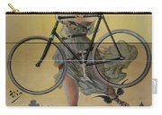Rare Vintage Paris Cycle Poster Carry-all Pouch
