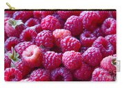 Homegrown Organic Raspberries, Chiloquin Oregon Carry-all Pouch
