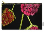 Raspberry Fabric Carry-all Pouch