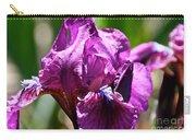Raspberry Jam Iris Carry-all Pouch