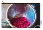 Raspberry Reflections Carry-all Pouch