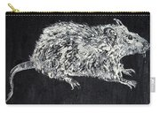 Rat - Oil Portrait Carry-all Pouch