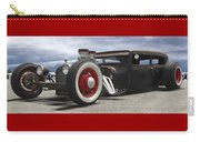 Rat Rod On Route 66 Panoramic Carry-all Pouch
