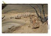 Rattlesnake Arizona Desert Carry-all Pouch
