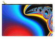 Raven, Dreaming By The Fire Carry-all Pouch