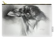 Raven Head Carry-all Pouch