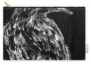 Raven On The Branch - Oil Painting Carry-all Pouch