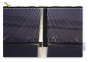 Ravenel Bridge Night View Carry-all Pouch