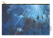 Ravens Of The Blue Carry-all Pouch