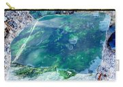 Raw Jade Rock Carry-all Pouch
