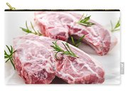 Raw Lamb Chops Carry-all Pouch