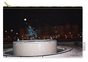 Ray Charles Statue In A Odd Weather Event Carry-all Pouch