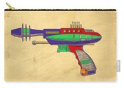 Ray Gun Patent Art Carry-all Pouch