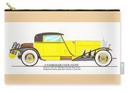 1922 Mercedes Benz By Raymond Dietrich Z Carry-all Pouch