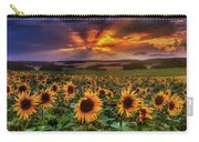 Rays Of Sunflowers Carry-all Pouch