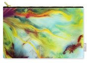 Rays Of The Sun Watercolor Abstraction Painting Carry-all Pouch
